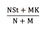 Warrant Dilution Equation 1