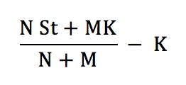 Warrant Dilution Equation 2